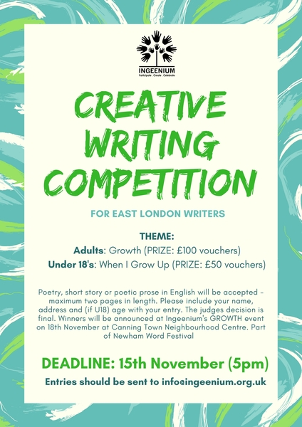 Creative writing services courses london free