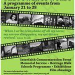 Holocaust Memorial Day Programme 2018